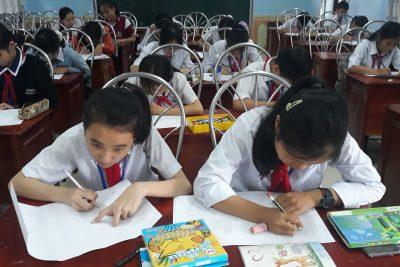 Hội thi vẽ tranh chào mừng ngày Nhà giáo Việt Nam 20/11